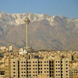 Torre de Milad Foto de archivo libre de regalías