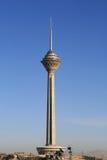 Torre de Milad em Tehran, Irã Fotografia de Stock Royalty Free