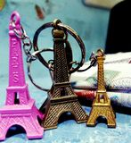 Torre de Mini Eifel Imagens de Stock Royalty Free