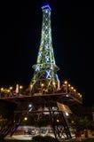 Torre de Mini Eiffel Foto de archivo