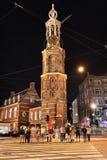 Torre de Munt en el centro de Amsterdam. Fotos de archivo libres de regalías