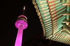 Torre de N seoul Imagem de Stock