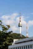 Torre de N Seul Fotos de archivo