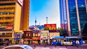 Torre de Namsan Fotografia de Stock Royalty Free