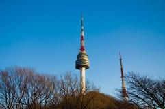 Torre de Namsan Fotografía de archivo libre de regalías