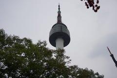 Torre de Namsan Imagens de Stock