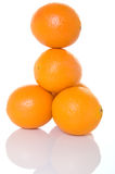 Torre de naranjas foto de archivo