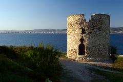 Torre de Nessebar Foto de archivo