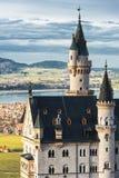 Torre de Neuschwanstein Fotografía de archivo libre de regalías