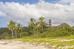Torre de Nosara do hotel e Playa Guiones imagem de stock