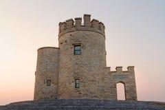 Torre de O'Briens en la puesta del sol Fotos de archivo libres de regalías