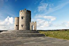 Torre de OBriens en Irlanda. Foto de archivo