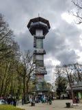 Torre de observación Imágenes de archivo libres de regalías