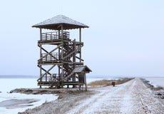 Torre de observación de la fauna Imagen de archivo