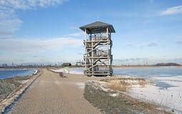 Torre de observación de la fauna Fotografía de archivo libre de regalías