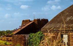 Torre de observación del reloj de la casa del humo Imagen de archivo libre de regalías