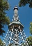 Torre de observación en Praga Foto de archivo libre de regalías