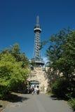 Torre de observación en Praga Imagen de archivo
