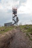 Torre de observación en Ruprechticky Spicak Fotos de archivo