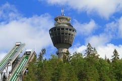 Torre de observación finlandesa Imágenes de archivo libres de regalías