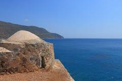 Torre de observación sobre el mar Imagen de archivo libre de regalías
