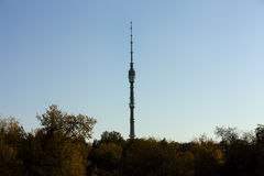 Torre de Ostankino Foto de archivo