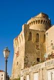 Torre de Pagliarola, Santa María di Castellabate Fotografía de archivo libre de regalías