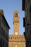 Torre de Palazzo Vecchio imagen de archivo libre de regalías