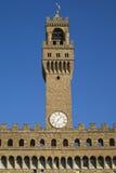 Torre de Palazzo Vecchio, Florencia, Italia fotografía de archivo