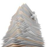 Torre de papel Imagem de Stock