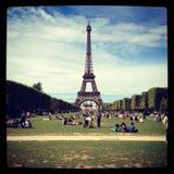 Torre de París fotografía de archivo libre de regalías