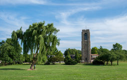 Torre de Park Memorial Carillon Bell do padeiro - Frederick, Maryland Fotos de Stock