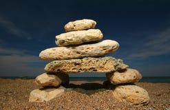 Torre de pedra fotografia de stock