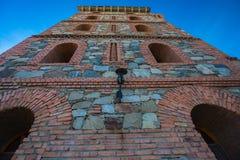 Torre de pedra do castelo imagem de stock