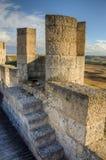 Torre de pedra do castelo de Penafiel, Foto de Stock