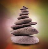 Torre de pedra equilibrada Fotos de Stock Royalty Free