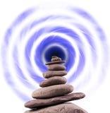 Torre de pedra equilibrada Imagens de Stock