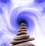 Torre de pedra equilibrada Foto de Stock