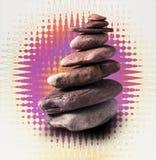 Torre de pedra equilibrada Fotografia de Stock Royalty Free