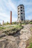 Torre de pedra no parque Foto de Stock