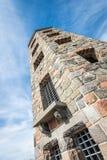 Torre de pedra no parque Imagem de Stock