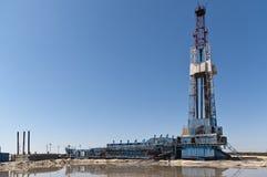 Torre de perforación de aceite Fotografía de archivo libre de regalías
