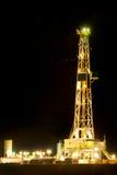 Torre de perforación de petróleo Foto de archivo libre de regalías