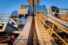 torre de perforación de petróleo Tartaristán Rusia Fotografía de archivo libre de regalías