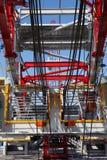 Torre de petróleo foto de stock royalty free