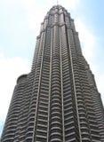 Torre de Petronas en Malasia   Imagen de archivo