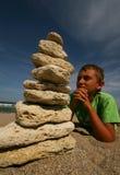 Torre de piedra Foto de archivo libre de regalías