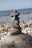 Torre de piedra en rocas Fotografía de archivo libre de regalías