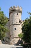 Torre de piedra medieval Imagen de archivo libre de regalías