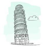 Torre de Pisa Fotografía de archivo